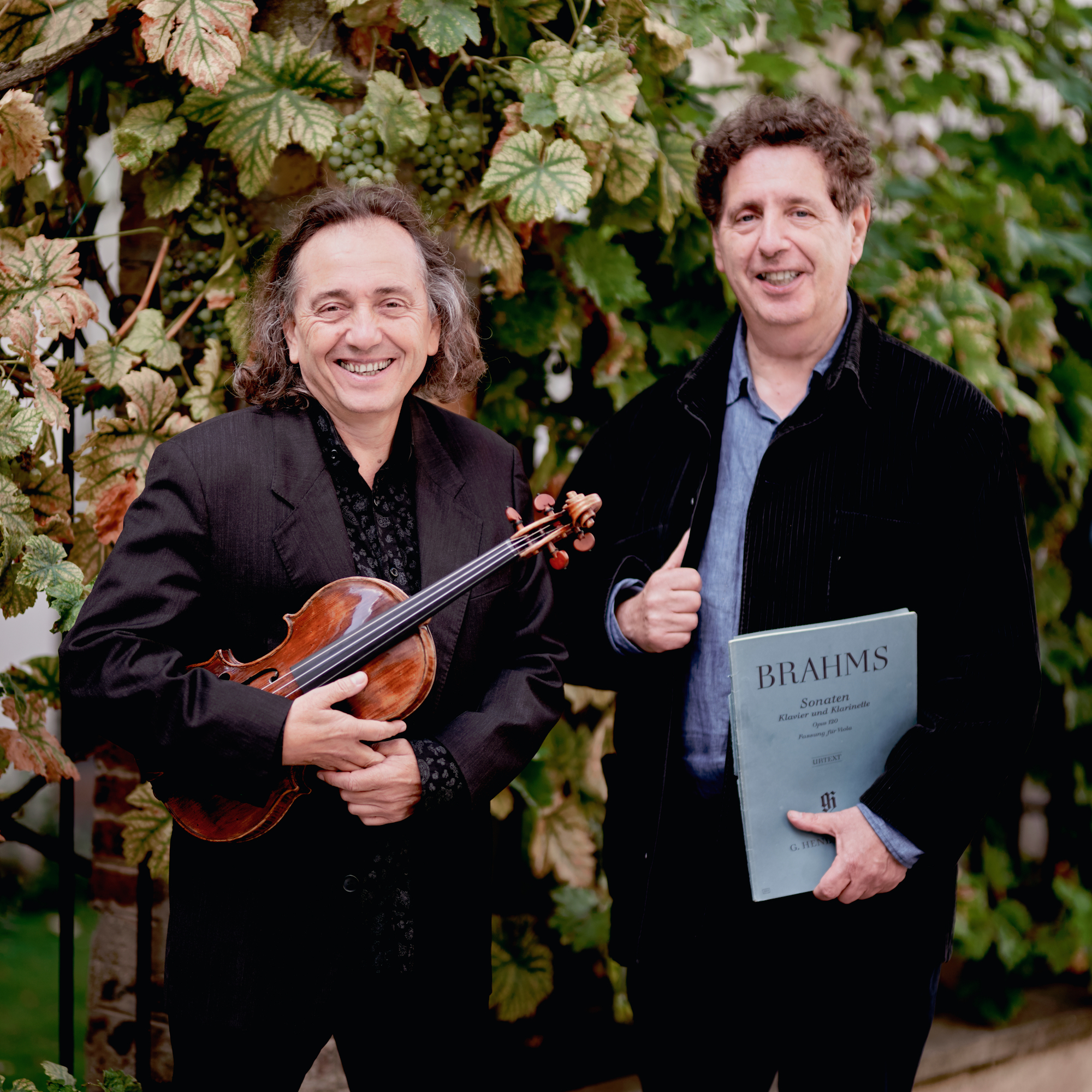 Michaël LEVINAS, piano & Christophe GIOVANINETTI, violon