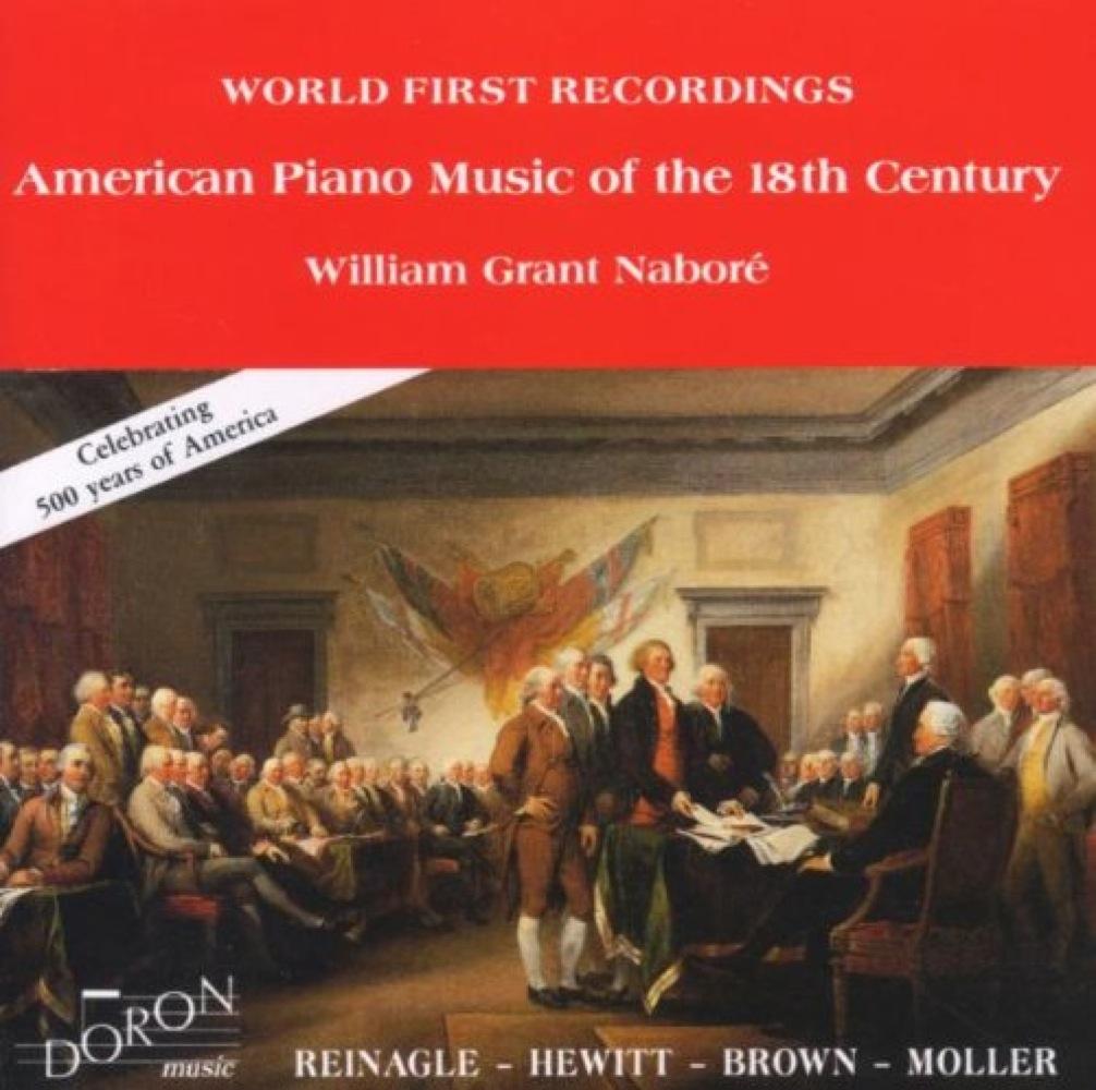 Musique Américaine pour piano du 18ème siècle