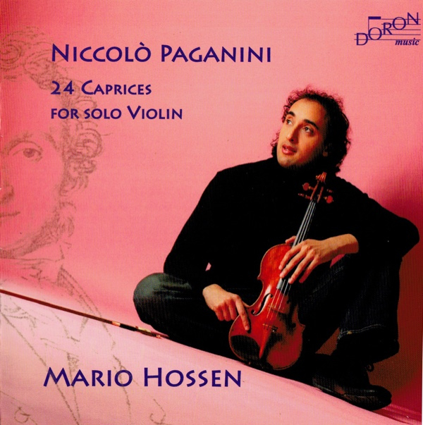 Paganini : 24 Caprices pour violon seul