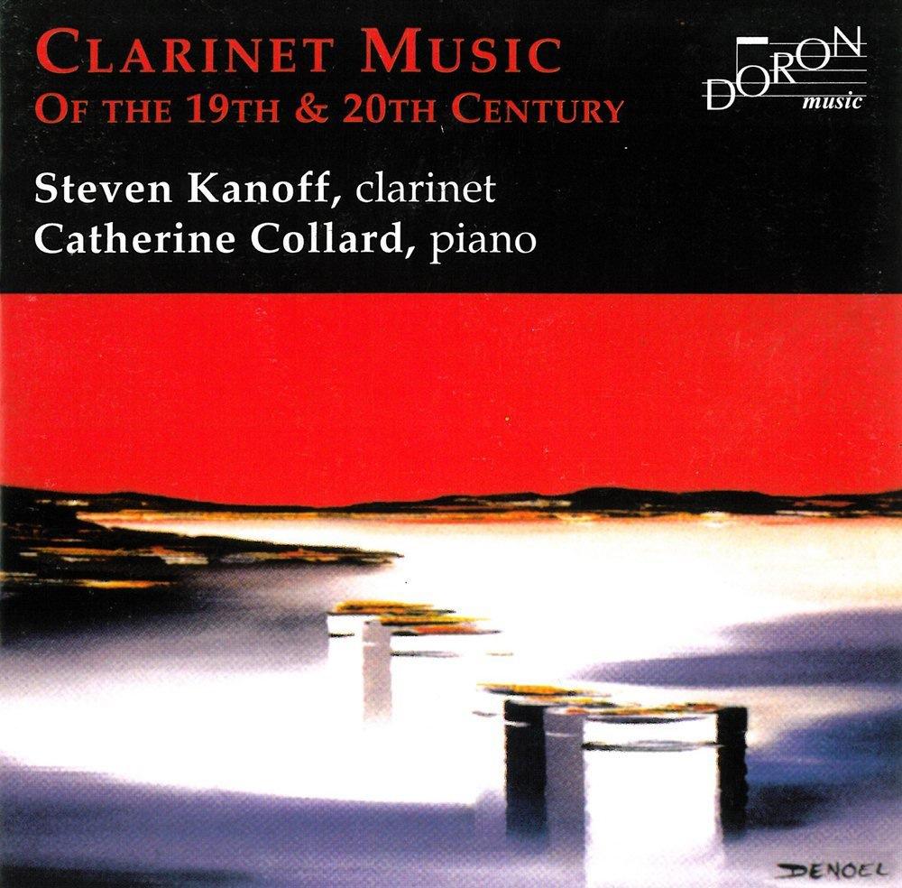 Musique pour clarinette du 19e et 20e siècles