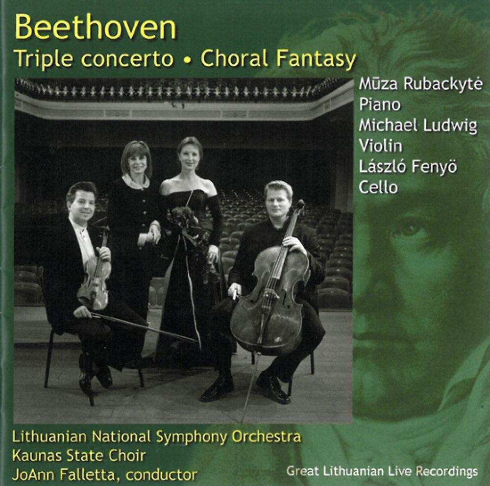Beethoven : Triple Concerto, Fantaisie chorale