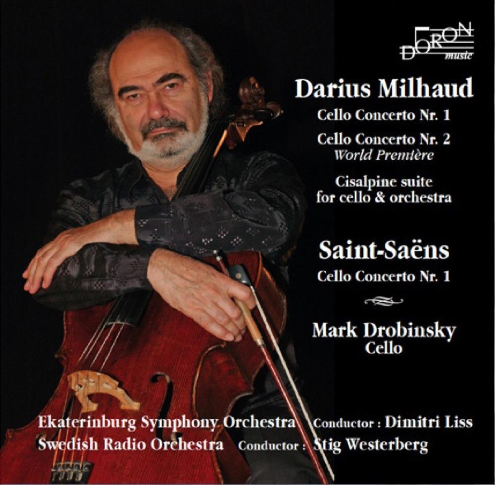 Milhaud - Saint-Saëns : Concertos pour violoncelle