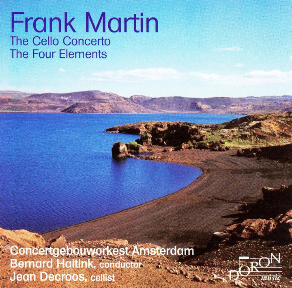 Martin, Franck : Le Concerto pour violoncelle, Les Quatre Éléments