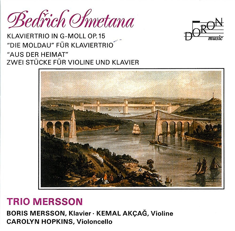 Smetana, Bedrich : Trio Op.15