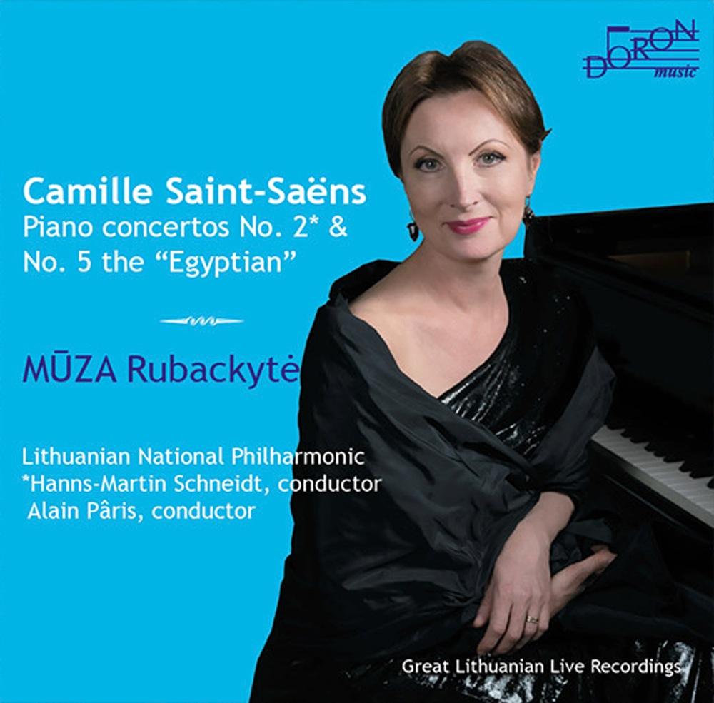 Saint-Saëns : Concertos pour piano n°2 et n°5