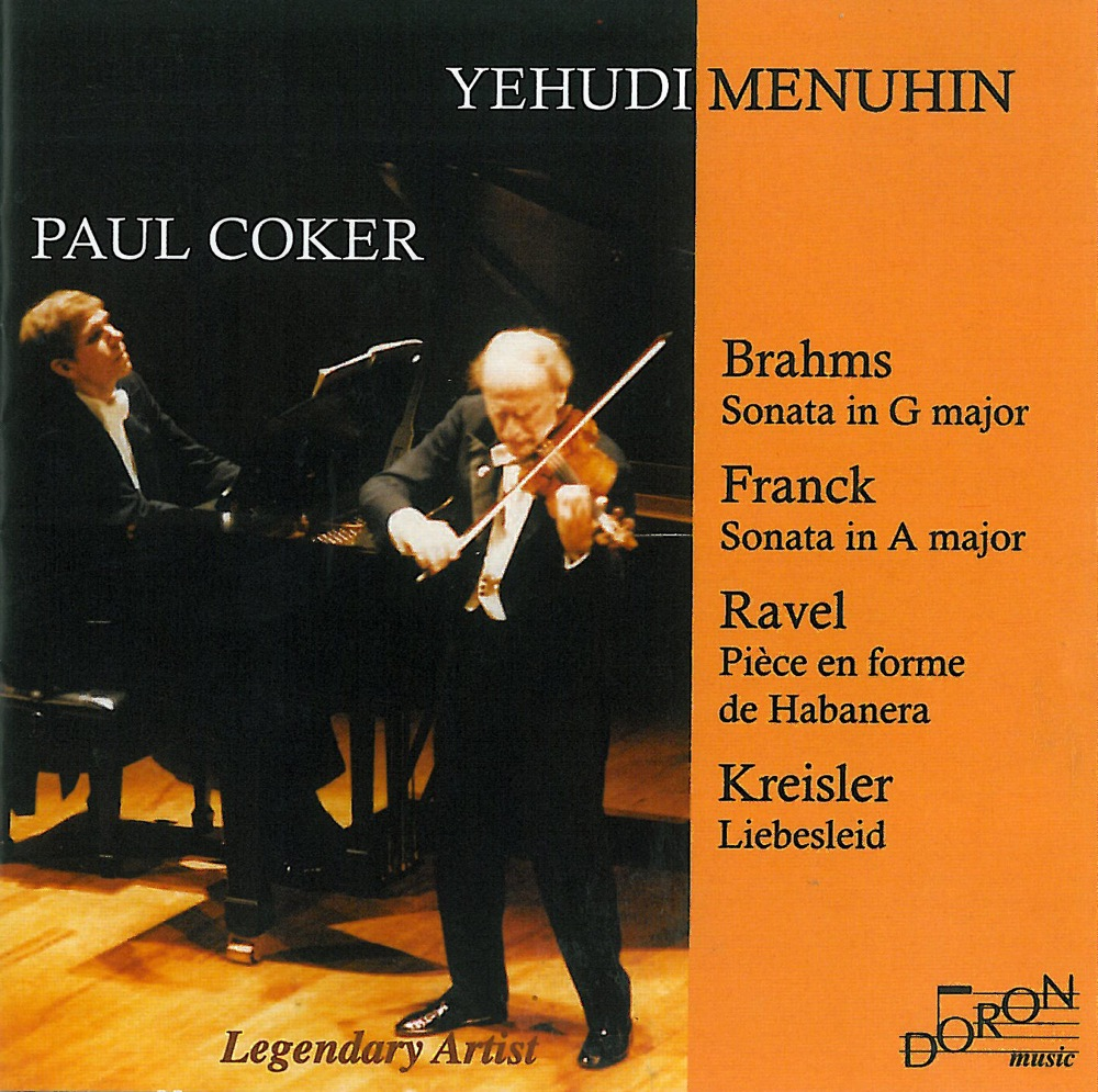 Yehudi Menuhin et Paul Coker, Live