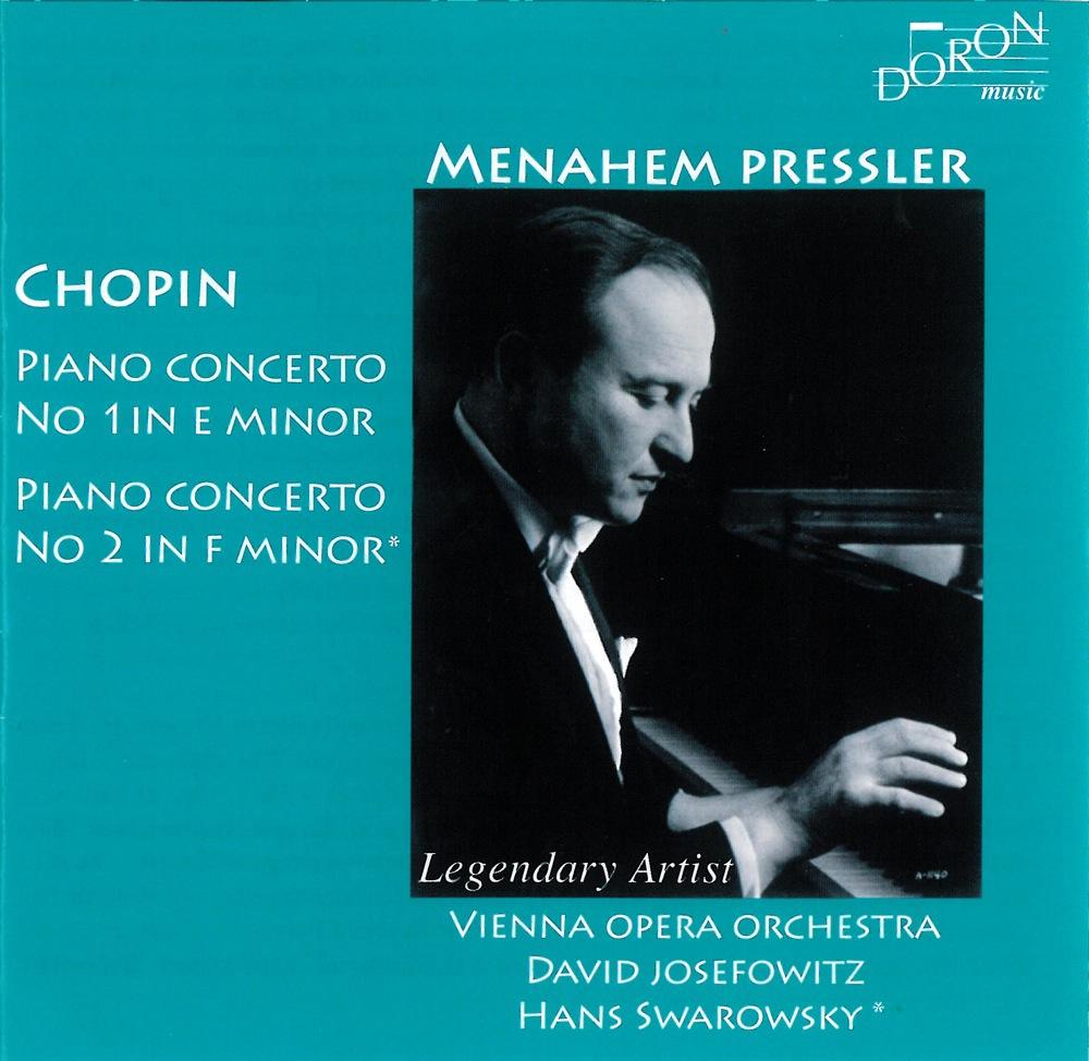 Chopin : Concertos pour piano n°1 et n°2