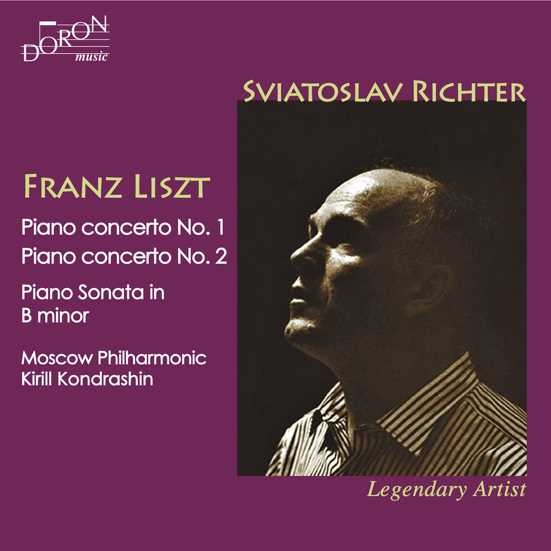Liszt : Concertos pour piano n°1 et n°2 / Sviatoslav Richter