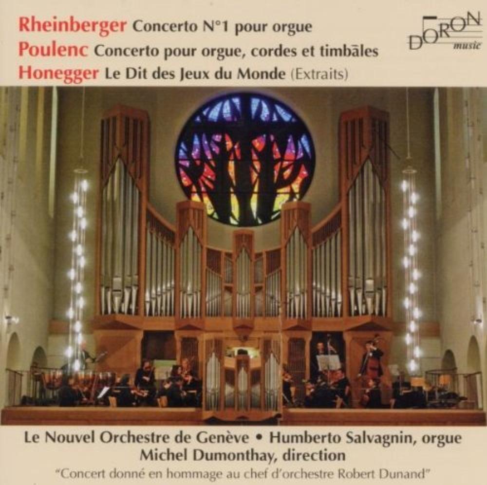 Rheinberger - Poulenc : Concertos pour orgue