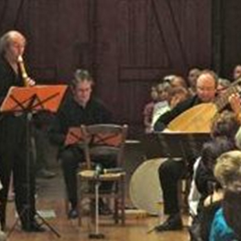 Christian Mendoza, recorder & Michel Cardin, theorbo at the St Merry 07/27/14